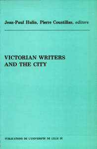 Victorian writers and the city Book