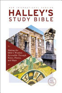 NIV  Halley s Study Bible  Hardcover  Red Letter Edition  Comfort Print