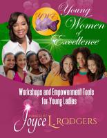 Young Women of Excellence  Workshops and Empowerment Tools for Young Ladies PDF