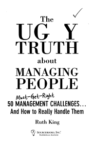The Ugly Truth about Managing People Book