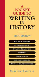 A Pocket Guide to Writing in History Book