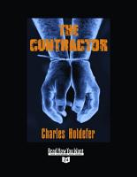The Contractor  Volume 2 of 2   EasyRead Super Large 24pt Edition  PDF