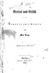 Verirrt und Erlöst: Roman in zwei Bänden, Band 2