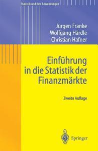Einf  hrung in die Statistik der Finanzm  rkte PDF