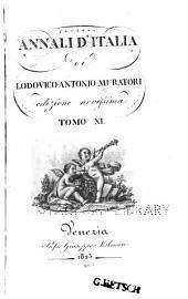 Annali d'Italia: Volume 11
