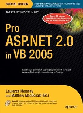 Pro ASP NET 2 0 in VB 2005  Special Edition PDF