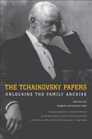 The Tchaikovsky Papers PDF
