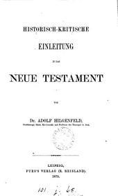 Historisch-kritische Einleitung in das Neue Testament