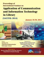 Proceedings of International Seminar on Application of Communication and Information Technology in Library PDF