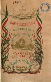 Canti nazionali di G. Regaldi
