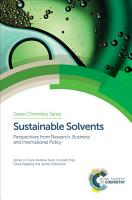 Sustainable Solvents PDF