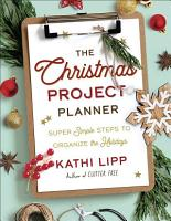 The Christmas Project Planner PDF