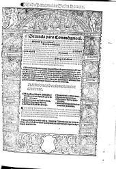 Commentaria seu Lectura in ... Decretalium librum: S[e]c[un]da Panormi[tani] in S[e]c[un]d[u]m Decreta[lium], Volume 2, Issue 2