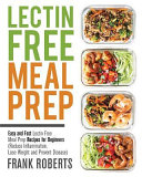Lectin Free Meal Prep Book