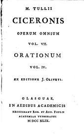 M. Tullii Ciceronis opera quae supersunt omnia: Volume 7