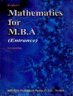 Mathematics for M.B.A
