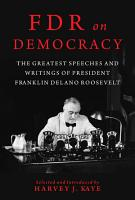 FDR on Democracy PDF