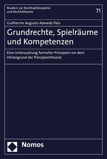 Grundrechte  Spielr  ume und Kompetenzen PDF