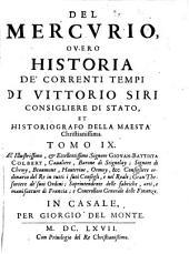 Il Mercurio Overo Historia De' correnti tempi: Volume 9