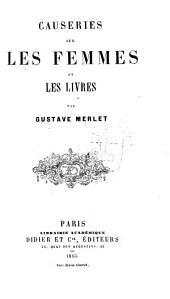 Causeries sur les femmes et les livres