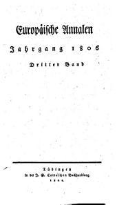 Europäische Annalen: 1806, 3/4