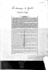 Articles nécrologiques ... découpures du 2 et 4 août 1849 et 23 nov. 1851