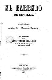El Barbero de Sevilla: opera buffa en las actos