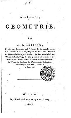 Analytische Geometrie PDF