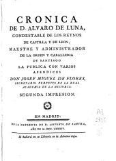 Cronica de D. Alvaro de Luna