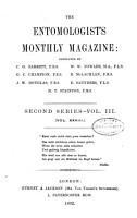 The Entomologist s Monthly Magazine PDF