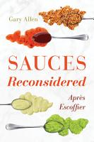 Sauces Reconsidered PDF