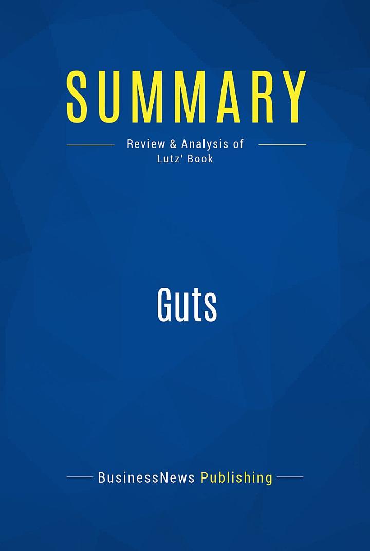 Summary: Guts