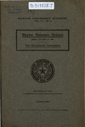 The Baylor Bulletin: Volume 9, Issue 2