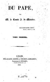 Du pape,1: Volume2