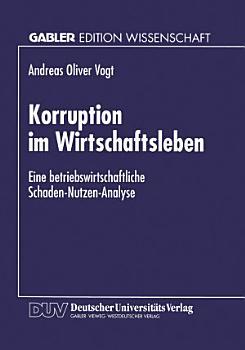 Korruption im Wirtschaftsleben PDF