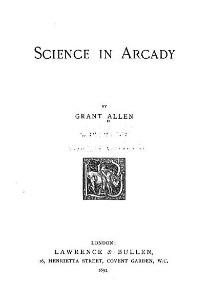 Download Science in Arcady Book