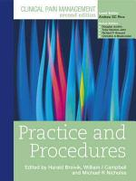 Clinical Pain Management Second Edition  Practice and Procedures PDF