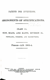 Patents for Inventions. Abridgments of Specifications: Volume 32