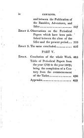 Essays: Biographical, Critical, and Historical; Illustrative of the Rambler, Adventurer & Idler ; and of the Various Periodical Papers Which, in Imitation of the Writings of Steele and Addison, Have Been Published Between the Close of the Eight Volume of the Spectator and the Commencement of the Year 1809, Volume 2