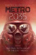 Metro 2035 English Language Edition  Book PDF