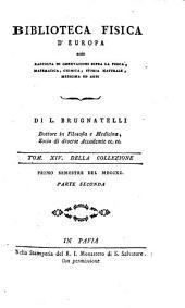 Biblioteca Fisica d'Europa: Volume 14
