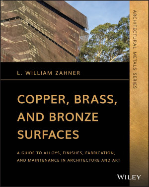 Copper  Brass  and Bronze Surfaces PDF