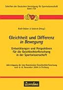 Gleichheit und Differenz in Bewegung PDF