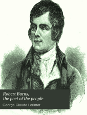 Robert Burns, the Poet of the People