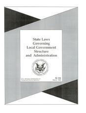 State Laws Governing Local Government Structure and Administration PDF