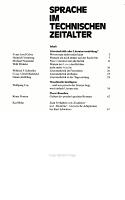 Sprache im technischen Zeitalter PDF