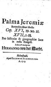 Palma Jeremiae