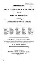 Mackenzie s Five Thousand Receipts PDF