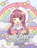 Chibi Girls Coloring Book