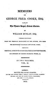 Memoirs of George Fred. Cooke: Volume 2